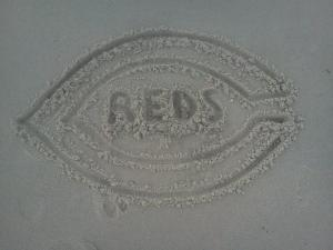 reds in sand